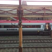 Photo taken at Platform 5 by Bernardo M. on 4/9/2014