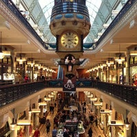 Photo taken at Queen Victoria Building (QVB) by Champignon G. on 5/18/2013