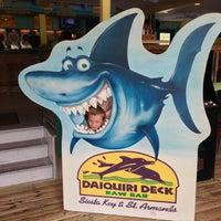 Photo taken at Daiquiri Deck Raw Bar by Lisa R. on 4/29/2013