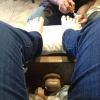 Photo taken at Lee Nail Spa by Sarah H. on 1/30/2013