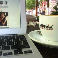 Photo taken at Кофеин / Kofein by Тимур И. on 5/27/2013