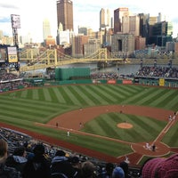 Photo taken at PNC Park by Jenna W. on 4/21/2013