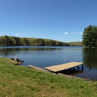 Photo taken at Pinewood Lake by Janet O. on 7/4/2013