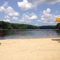 Photo taken at Pinewood Lake by Janet O. on 8/5/2014