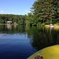 Photo taken at Pinewood Lake by Janet O. on 7/11/2014