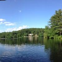 Photo taken at Pinewood Lake by Janet O. on 6/22/2014