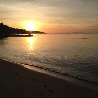 Photo taken at Baan Tai Beach by Arseniy K. on 10/28/2012