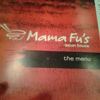 Photo taken at Mama Fu's Asian House by Katrina D. on 6/30/2013