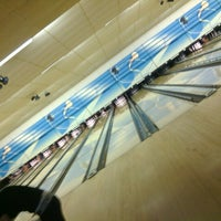 Photo taken at Lodge Lanes by Madison N. on 1/13/2013