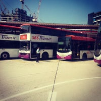 Photo taken at Jurong East Temporary Bus Interchange by Jason G. on 7/22/2013