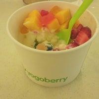 Photo taken at Yogoberry Original by Natasha R. on 12/30/2012