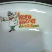 Photo taken at Kero Pizza by Rafah C. on 12/23/2013