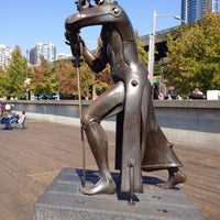 Photo taken at Christopher Columbus Statue by Andrew S. on 9/17/2012