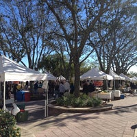 Photo taken at West Palm Beach Green Market by Nicole R. on 12/22/2012