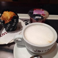 Photo taken at Costa Coffee by Thomas B. on 5/10/2014