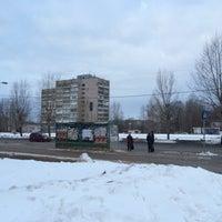 Photo taken at Остановка у Техношока by Андрей Т. on 2/25/2016