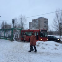 Photo taken at Остановка у Техношока by Андрей Т. on 2/15/2016