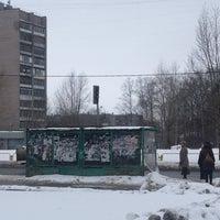 Photo taken at Остановка у Техношока by Андрей Т. on 2/10/2016