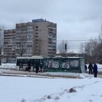 Photo taken at Остановка у Техношока by Андрей Т. on 2/17/2016