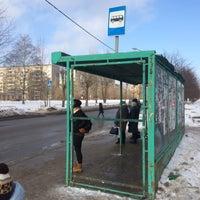 Photo taken at Остановка у Техношока by Андрей Т. on 2/20/2016
