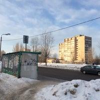 Photo taken at Остановка у Техношока by Андрей Т. on 2/19/2016