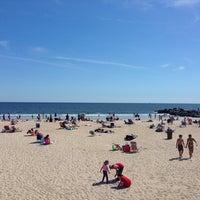 Photo taken at Rockaway Beach - 86th Street by Alan C. on 9/7/2013