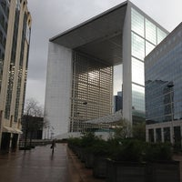 Photo taken at Grande Arche de la Défense by John K. on 12/18/2012