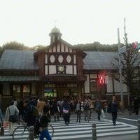 Photo taken at Meiji-jingumae 'Harajuku' Station by MH . on 3/8/2013