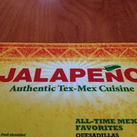 Photo taken at Jalapeño Authentic Tex-Mex Cuisine by Nikko M. on 3/16/2013
