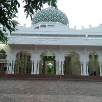 Photo taken at Masjid Al Hikmah Cunda by Andy C. on 9/6/2016
