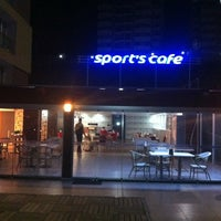 Photo taken at Sport's Cafe by Taylan H. T. on 12/25/2013