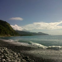 Photo taken at Ampir Beach by Anne D. on 4/1/2013