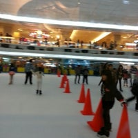 Photo taken at Sky Rink Ice Skating by Kuntoro H. on 12/22/2012