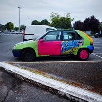 Photo taken at Auchan by Rémi G. on 6/17/2015