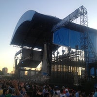 Photo taken at Huntington Bank Pavilion at Northerly Island by Dwight P. on 6/28/2013