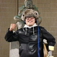 Photo taken at Ebisu Statue by Mitsuru O. on 12/9/2012