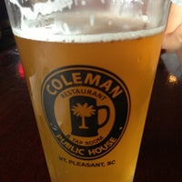 Photo taken at Coleman Public House Restaurant & Tap Room by Lisa B. on 7/16/2013