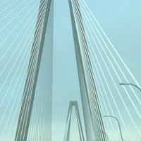 Photo taken at Arthur Ravenel Jr. Bridge by Lisa B. on 4/12/2013