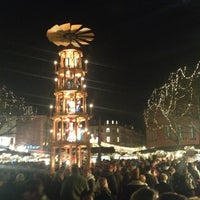 Photo taken at Mainzer Weihnachtsmarkt by Micho B. on 12/1/2012