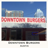 Photo taken at Down Town Burgers by Terrell K. on 8/6/2014