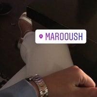 Das Foto wurde bei Marooush von Şenay Y. am 5/19/2018 aufgenommen