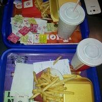 Photo taken at Burger King by ezgi K. on 1/17/2013