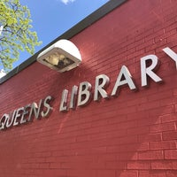 Photo taken at Queens Library at Sunnyside by Jesse H. on 5/2/2017