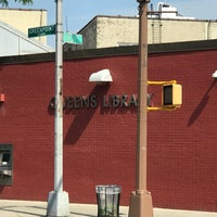 Photo taken at Queens Library at Sunnyside by Jesse H. on 6/14/2017