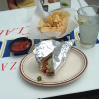 Photo taken at Zia Taqueria by Lauren T. on 4/13/2014