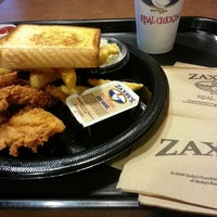 Photo taken at Zaxby's Chicken Fingers & Buffalo Wings by Eugene A. on 4/10/2013