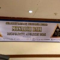Photo taken at Inna Grand Bali Beach Hotel by Ketut Adie G. on 12/18/2016