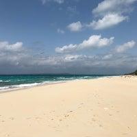 Photo taken at Nagamahama Beach by Mizuho A. on 3/21/2018