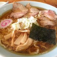 Photo taken at 金ちゃんラーメン 上山店 by himucl on 10/9/2014
