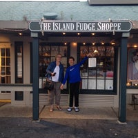 Photo taken at The Island Fudge Shoppe by Gene S. on 4/22/2014
